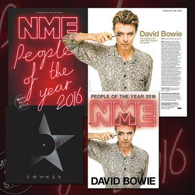 DAVID BOWIE People Of The Year 2016 N.M.E.